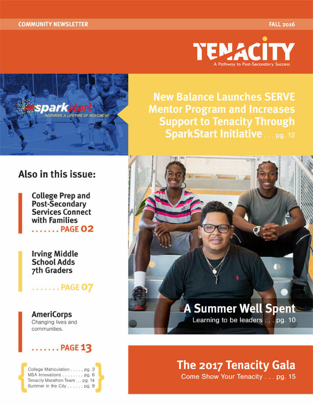 Fall 2016 Tenacity Newsletter