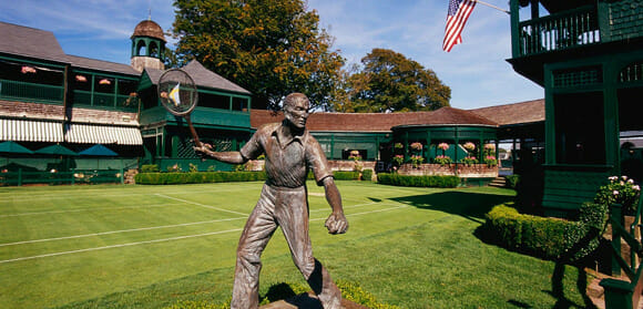 Serving Up Fun and Excitement at the International Tennis Hall of Fame