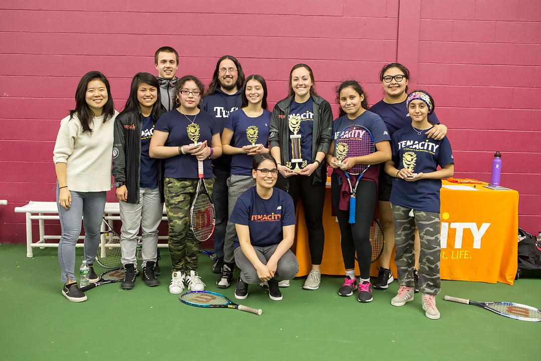 Girls Got Game Championship team champions Mario Umana Eagles