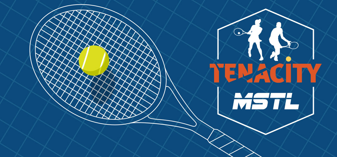 MSTL logo with raquet